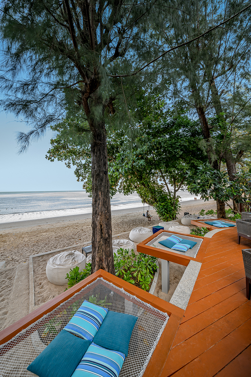 COAST Beach Club & Bistro in Pai Plong Bay.